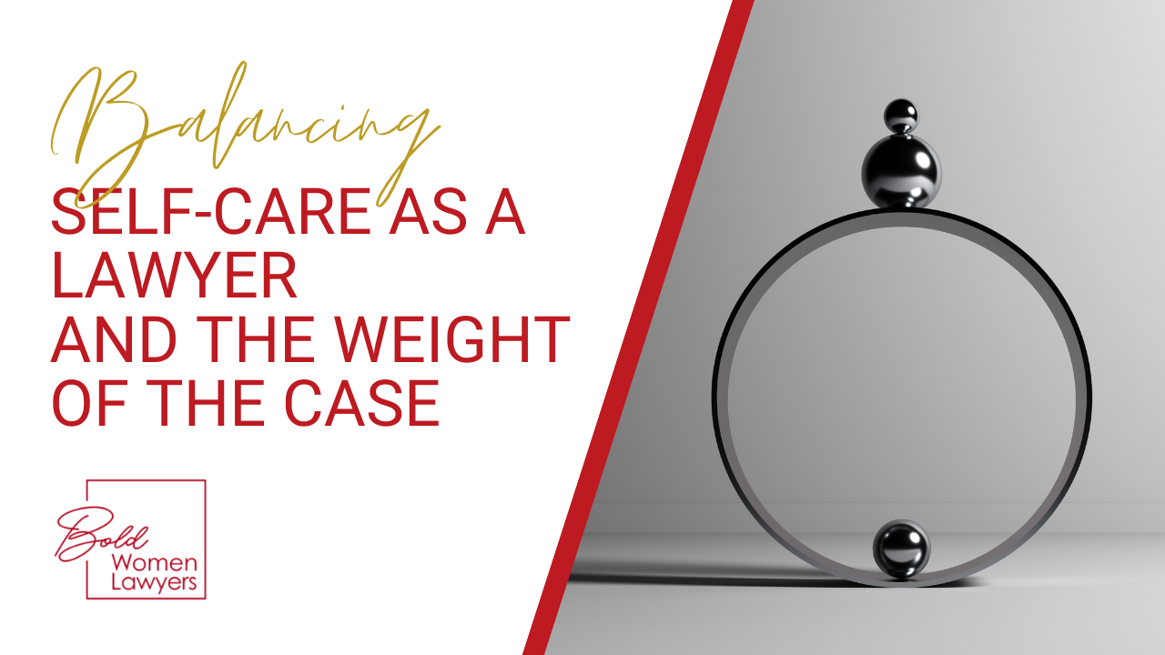 Balancing Self Care And The Weight Of The Case